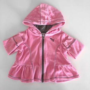 Baby Girl Ruffle Puma Hoodie